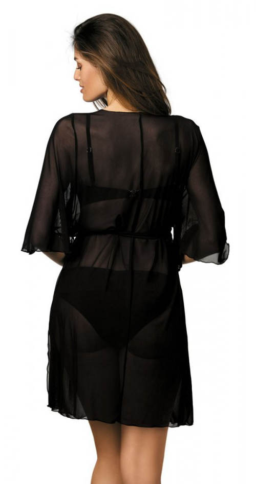 Fekete kockás fürdőruha