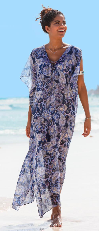 Hosszú nyári strandruha