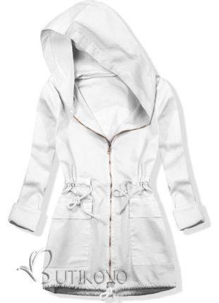 Kabátként viselt csuklyás tunika